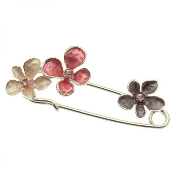Floral Scarf Pin/Brooch